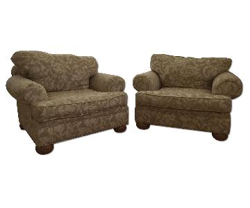 Lane Upholstered Arm Chairs