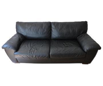 Ikea Leather Sleeper Sofa