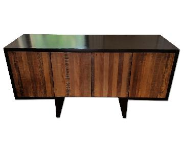Environment Furniture Novo Reclaimed Wood & Mahogany Console/Credenza