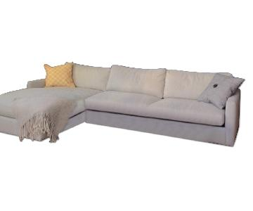 Room & Board Easton Sectional Sofa w/ Left-Arm Chaise