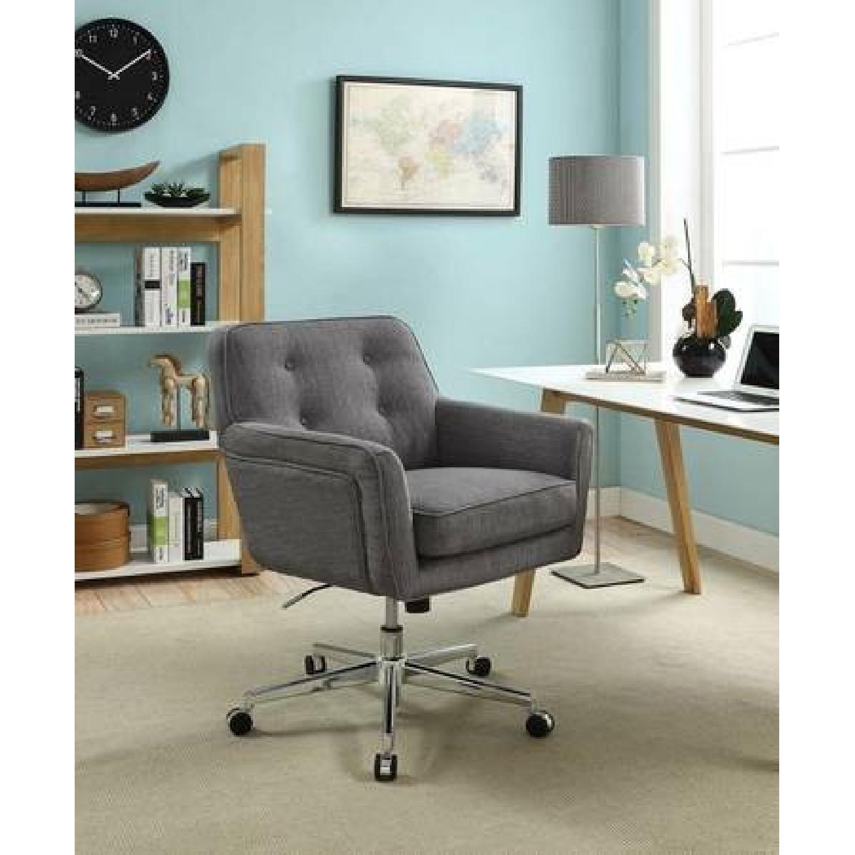 Serta Ashland Mid Back Desk Office Chair Aptdeco