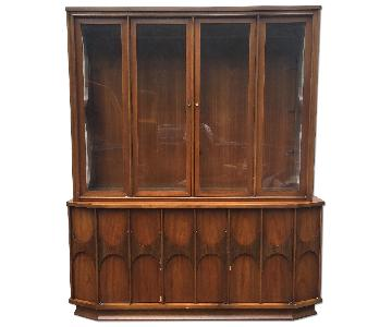 Kent Coffey Perspecta 2 Piece Chaina Cabinet