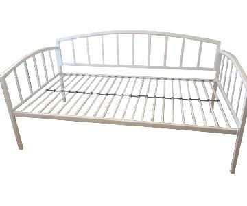 DHP Ava Metal Daybed in White