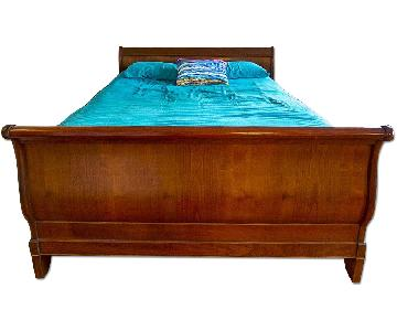 Grange Louis Philippe Queen Sleigh Bed Frame