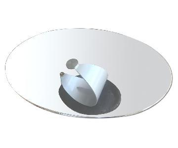 Glass & Stone Coffee Table