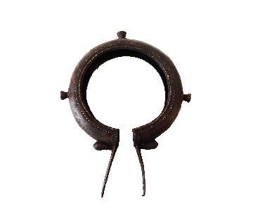 African Tikar Bronze Currency Bracelet