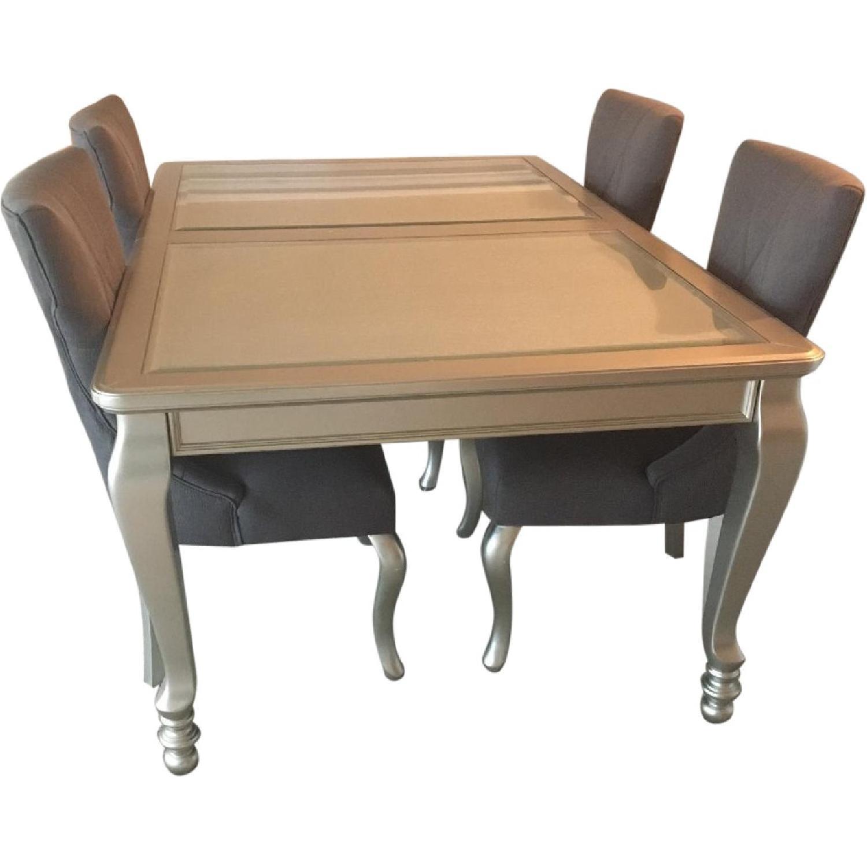 ashley's coralayne 5 piece dining room set - aptdeco