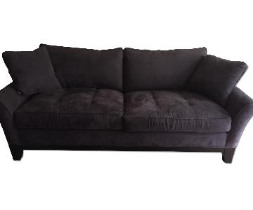 Raymour & Flanigan 3 Seater Slate Gray Couch