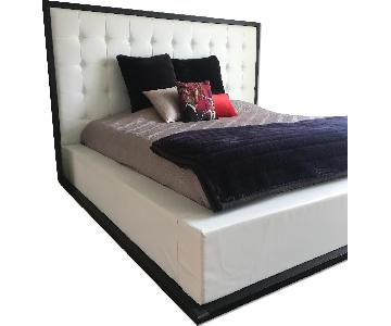 Modani Chelsea Black Oak Contemporary Bed Frame