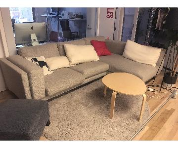 Ikea Grey Sectional Sofa