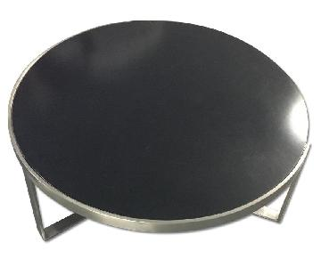 Black Disk Table