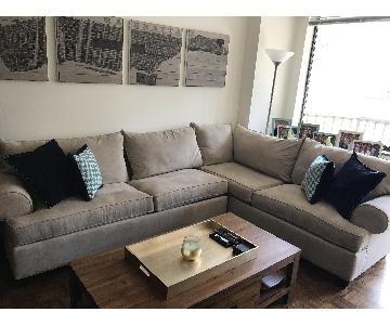 Raymour & Flanigan Artemis Sleeper Sectional Sofa