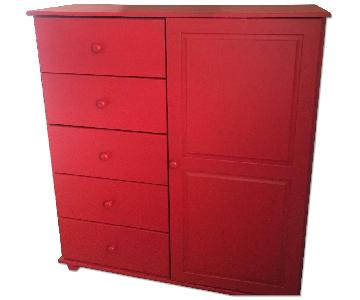 Red Armoire