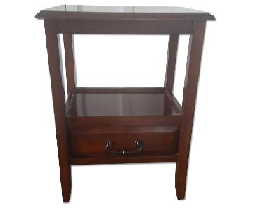 Pier 1 Wood End Table