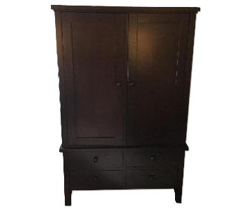 Pottery Barn Farmhouse Armoire