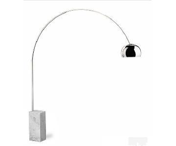 Arco Lamp Replica in White
