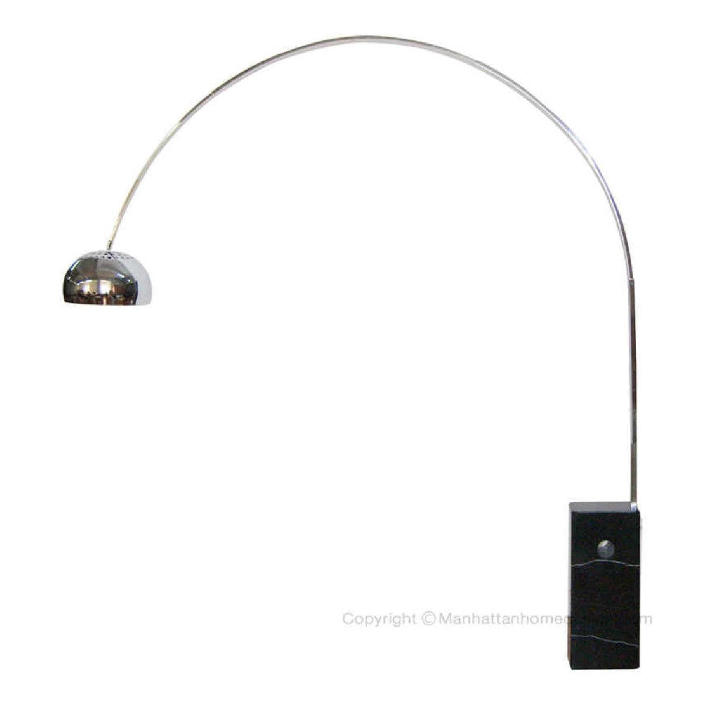 Arco Lamp Replica in Black
