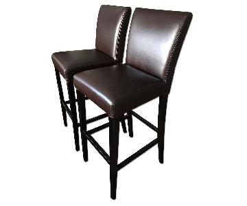 Crate & Barrel Lowe Bar Stools
