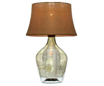 Pottery Barn Clift Glass Table Lamp