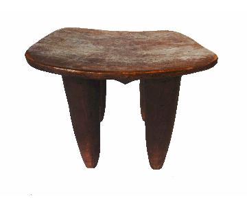 LG African Senufo Table Stool