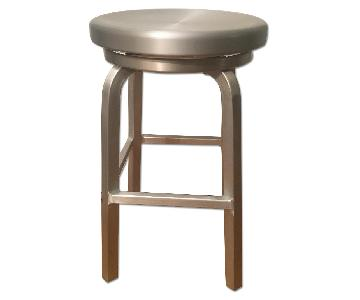 Crate & Barrel Spin Swivel Counter Stools