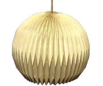Le Kint Danish Mid Century Modern Lamp Shade Fixture/Chandelier