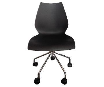 Kartell Desk Chair w/ Wheels