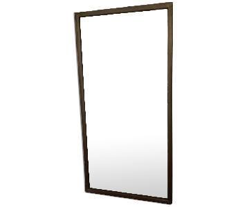 Pewter Framed Mirror