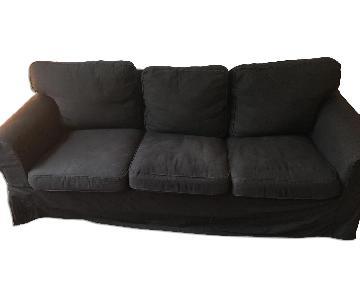 Ikea Ektorp Couch in Black