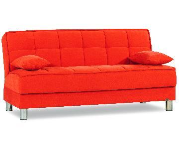 Smart Fit Click-Clack w/ Storage in Orange Fabric