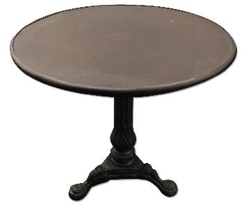 Restoration Hardware 19th C. French Acanthus Brasserie Table
