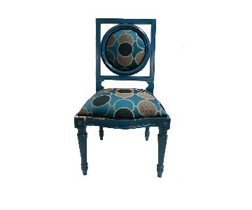 French Laquer Painted Side Chair