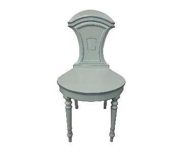 Light Gray Hall Chair