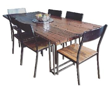 From The Source Dining Table w/ 6 Chairs