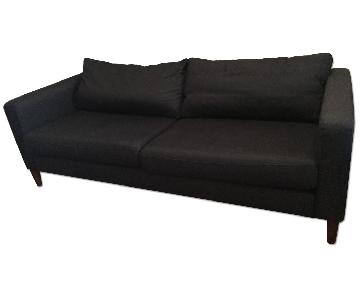 Ikea Karlstad Sofa w/ Mid-Century Modern Feet