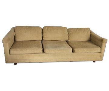 Vintage Modern Sofa + 2 Club Chairs