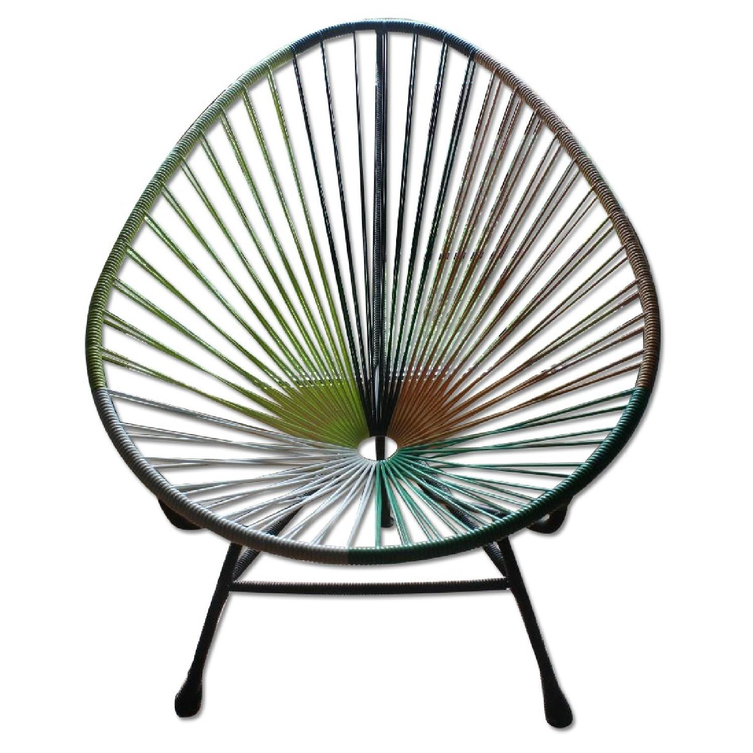 Acapulco chair cb2 - Cb2 Acapulco Accent Chair