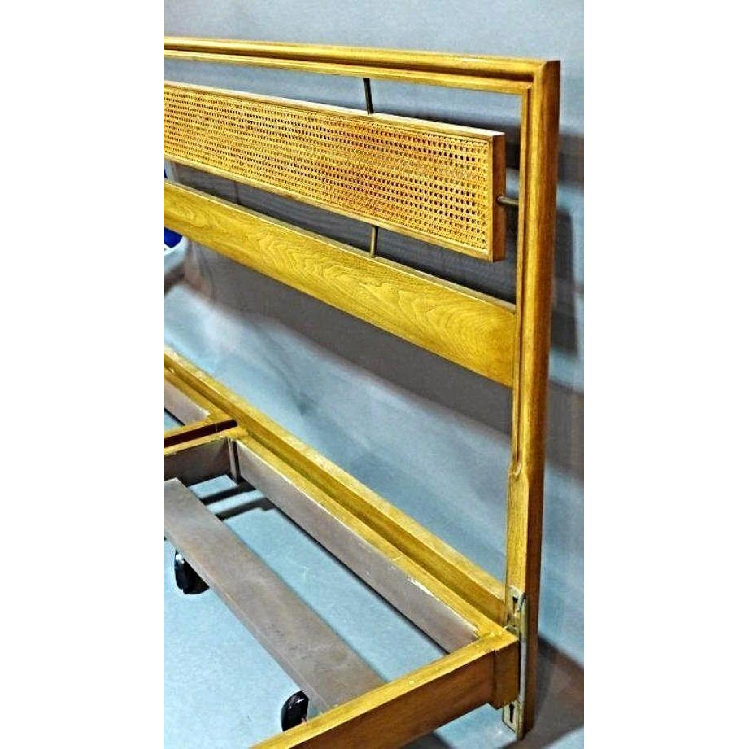 Mid Century Modern King Size Bed Frame-1
