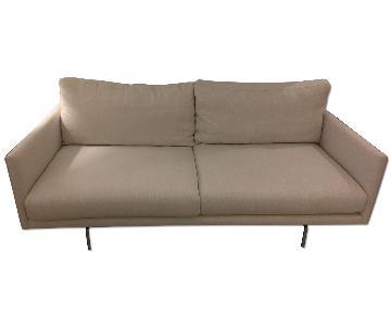 Article Float Quartz White Sofa