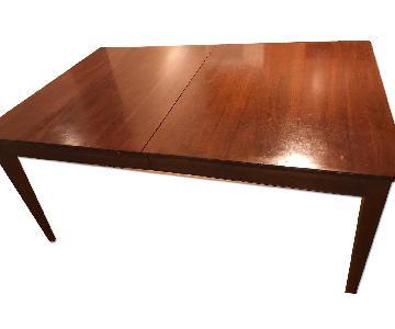 Ethan Allen Knob Creek Dining Table w/ Leaf