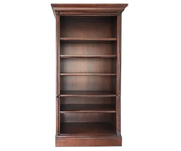 Macy's Cherry Finish Classic Bookcase