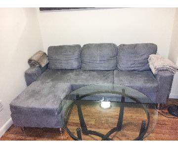 Dorel Living Furniture Right Hand Facing Sectional Sofa