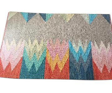 CB2 Featherbottom Rug w/ RugPad