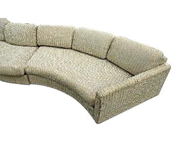 Milo Baughman Craft Assoc Mid Century Sectional Sofa