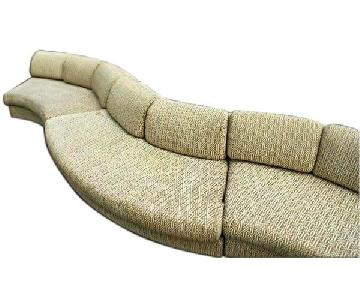 Milo Baughman Craft Assoc Mid Century Sectional Sofa
