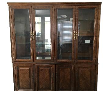 American of Martinville Wood Wall Unit