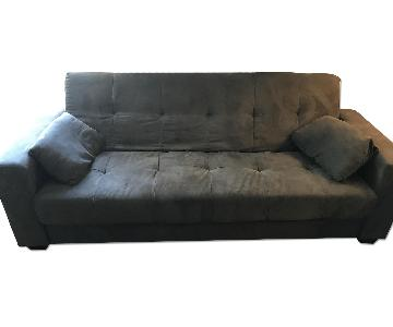 Lifestyle Solutions Lexington Sofa Bed in Gray