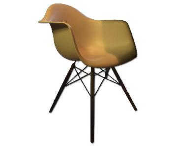 Design Within Reach Eames Molded Plastic Dowel-Leg Armchair