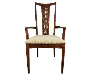 Broyhill Sculptra Mid-Century Modern Dining Chairs