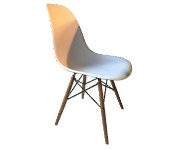 Design Within Reach Eames Molded Plastic Dowel-Leg Side Chai